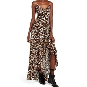 Born to Be Wild High Low Leopard Dress